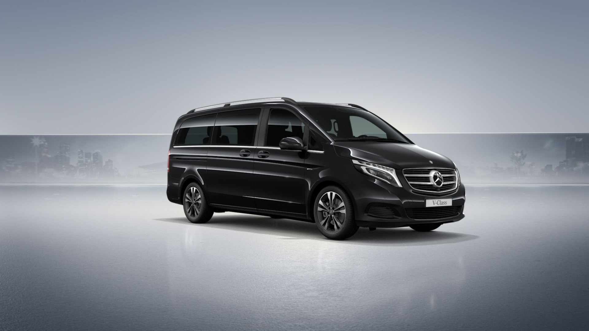 mercedes benz v class xl vip 4matic alphubel limousine. Black Bedroom Furniture Sets. Home Design Ideas