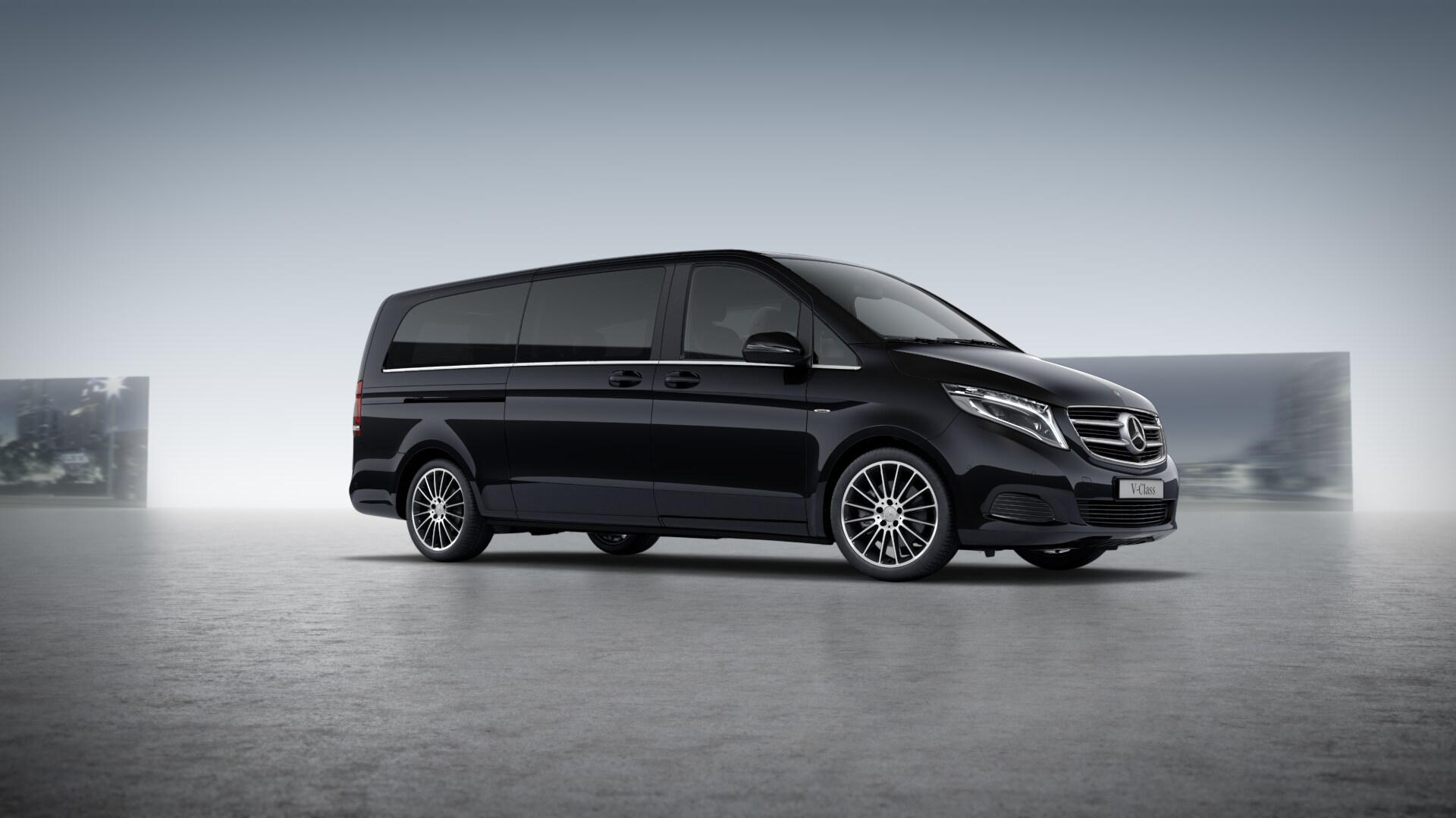 mercedes benz v klasse xl vip 4matic alphubel limousine. Black Bedroom Furniture Sets. Home Design Ideas